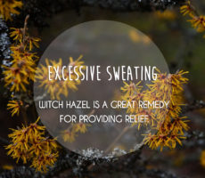 Sweating (Hyperhidrosis) Try Natural Remedies