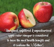 Benefits Of the Mother In Apple Cider Vinegar